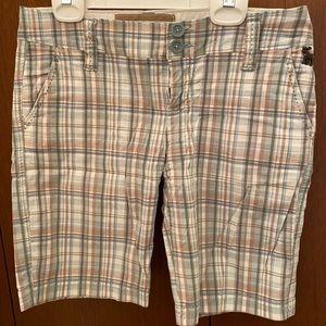 Abercrombie Bermuda shorts.